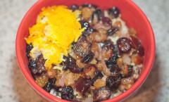Persian Rice with black-eye pea لوبیا چشم بلبلی پلو